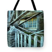 Old Time Wheels Tote Bag