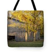 Old Tobacco Barn Tote Bag by Brian Jannsen