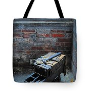 Old Tool Box Lonaconing Silk Mill Tote Bag