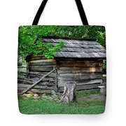 Old Tool Shed Tote Bag