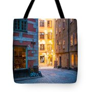 Old Town Alley Tote Bag
