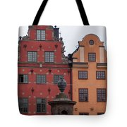 Old Town Architecture Tote Bag