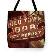 Old Town Bar - New York Tote Bag