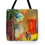 Old Town Benidorm Tote Bag