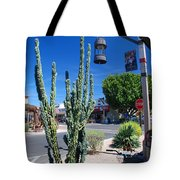 Old Town Cactus Tote Bag