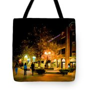 Old Town Christmas Tote Bag by Jon Burch Photography
