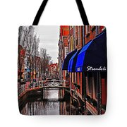 Old Town Delft Tote Bag