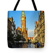 Old Town  Gdansk  Poland Tote Bag