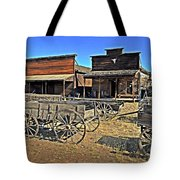 Old Town Mainstreet Tote Bag by Marty Koch