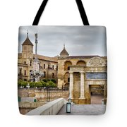 Old Town Of Cordoba In Spain Tote Bag