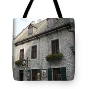 Old Town Quebec Canada Tote Bag