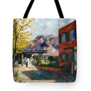 Old Town Sedona Tote Bag