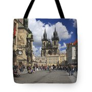 Old Town Square Prague Czech Republic  Tote Bag