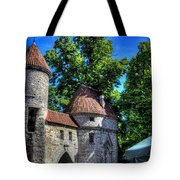 Old Town - Tallin Estonia Tote Bag