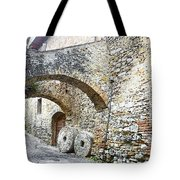 Old Towns Of Tuscany San Gimignano Italy Tote Bag