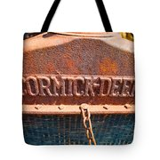 Old Tractor Grille Tote Bag