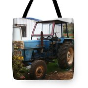Old Tractor I Tote Bag