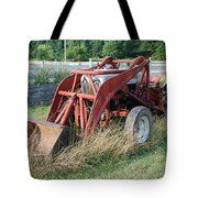 Old Tractor Tote Bag by Jennifer Ancker