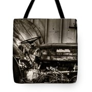 Old Tractor - Series Xv Tote Bag