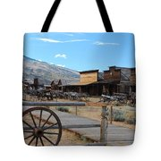 Old Trail Town   Tote Bag