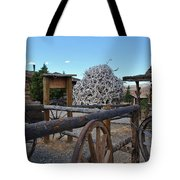 Old Trail Town -  Wyoming Tote Bag