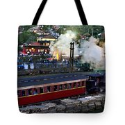 Old Train In The Village - Paranapiacaba Tote Bag
