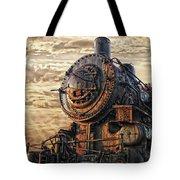 Old Train Still In Light Tote Bag