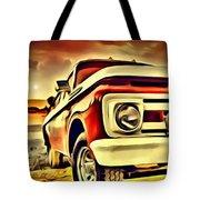 Old Truck Art Tote Bag