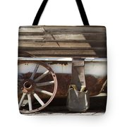Old Tub Tote Bag by Enzie Shahmiri