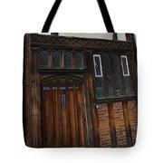 Old Tudor Doorway Tote Bag
