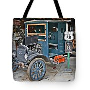 Old Tyme Auto Shop Tote Bag