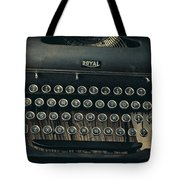 Old Typewriter With Letter Tote Bag