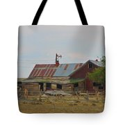 Old Vacant Country Property Tote Bag