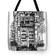Old Venetian Door In Rethymno Tote Bag