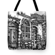 old Venetian doors Tote Bag