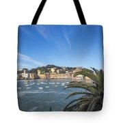 Old Village Sestri Levante Tote Bag