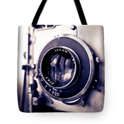 Old Vintage Press Camera  Tote Bag