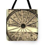 Old Wagon Wheel 1 Tote Bag