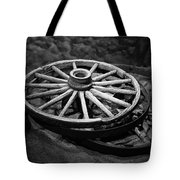 Old Wagon Wheels Tote Bag