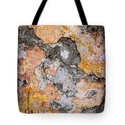Old Wall Abstract Tote Bag