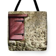 Old Wall And Door Tote Bag