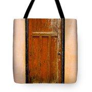 Old Weathered Door Tote Bag