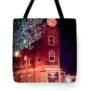 Old Wedge Bank  Building  Haunted Alton Ill Tote Bag