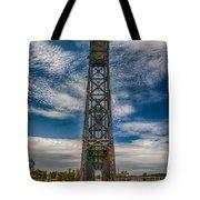 Old Welland Lift Bridge 3d07057hp Tote Bag