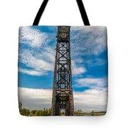 Old Welland Lift Bridge  Tote Bag