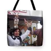 Old West Canine Show Patriotic Dog Pinal County Fair Eleven Mile Corner Arizona 2005 Tote Bag