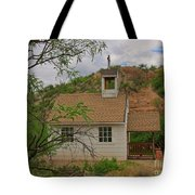 Old West Church In The Desert Tote Bag