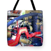 Old West Fire Wagon Tote Bag