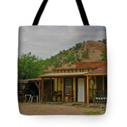 Old West Homestead Tote Bag