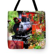 Old West Locomotive 2 Tote Bag